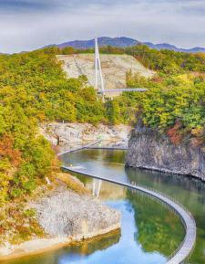 철원 한탄강 물윗길 트레킹 축제, 세계지질공원서 늦가을 만끽