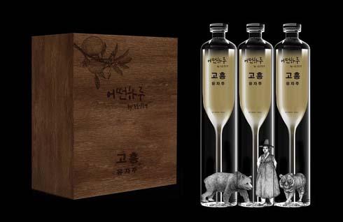 '고흥유자주' 아시아 3대 디자인상 'K-디자인 어워드 2021' 위너 수상