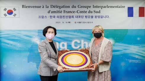 한국-프랑스 의원친선협회 대표단 양천구 방문